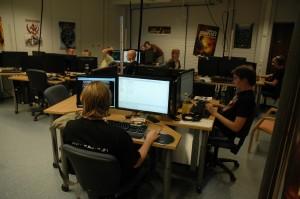 Cơ sở vật chất khoa CNTT trường Kajaani