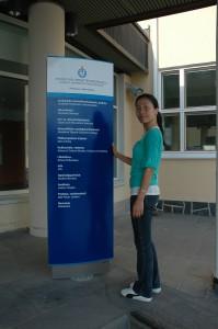 Đại diện Edulinks tại trường Đại học Jyvaskyla Phần Lan