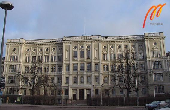 Trường được thành lập vào năm 2007, có 15 cơ sở tại khu đô thị Helsinki.
