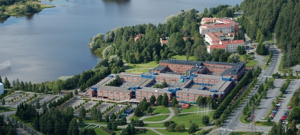 Kuopio campus Đại học Earsten Finland