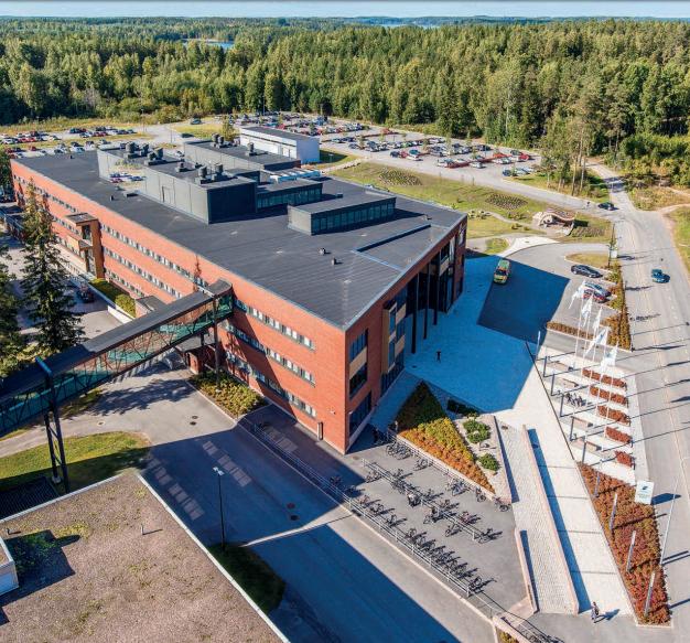 Khuôn viên trường Saimaa