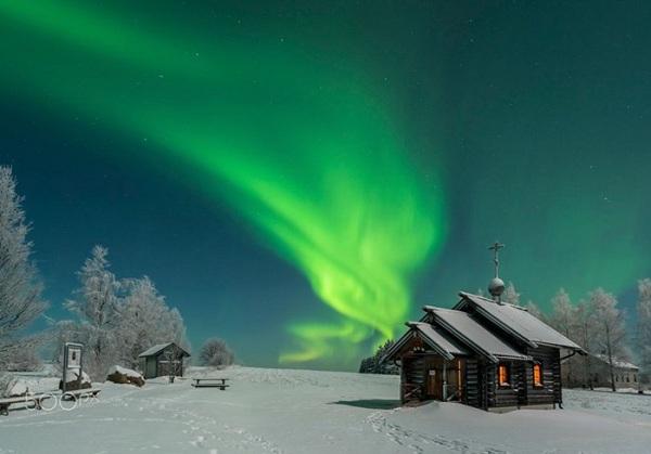 Ánh sáng cực quang của thiên nhiên