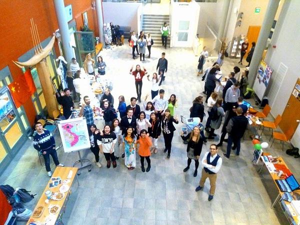Hoạt động của sinh viên Việt Nam tại Lapland